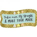 Aim High Make Your Mark Bulletin Board Set