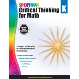 Spectrum® Critical Thinking for Math, Grade K