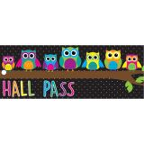 Laminated Hall Pass, Owls Hall Pass