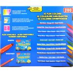 Ultra-Washable Fine Tip Markers Classpack, 200 count, 10 colors