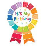Happy Birthday Ribbon Reward Badges