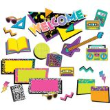 Rock the Classroom Welcome Mini Bulletin Board Set
