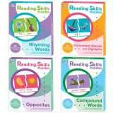 Reading Skills Puzzles, Set of all 4