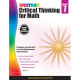 Spectrum® Critical Thinking for Math, Grade 7