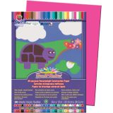 SunWorks® Construction Paper, 9 x 12, Hot Pink