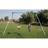Commercial Swing Set, 1-Bay/2 Swings