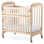 Next Generation Serenity® Compact-Size Crib with Natural EverClear™ Finish, SafeReach® with Mirror End Panels