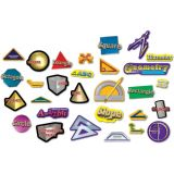 Geometry Punch-Outs Bulletin Board Set