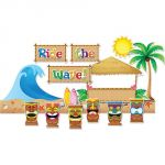 Surf's Up Bulletin Board Set