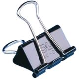 Binder Clips, Medium, 0.625 Capacity, Box of 12