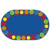Sitting Spots™ Rug, 10'9 x 13'2 Oval, Primary