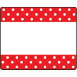 Polka Dots Red Terrific Labels™
