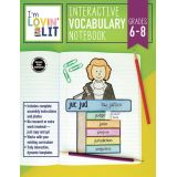 I'm Lovin' Lit Interactive Notebook, Vocabulary, Grades 6-8
