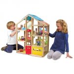 Hi-Rise Dollhouse & Furniture Set