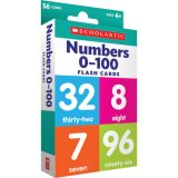 Numbers 0–100 Flash Cards