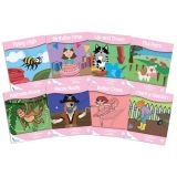 Fantails™ Book Banded Readers, Pink Fiction, Levels A-B