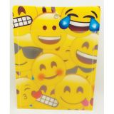 Smart Poly™ Pockets, Emojis, 10 x 13