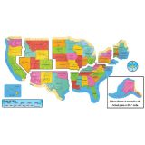 United States Map Bulletin Board Set