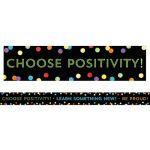 Celebrate Learning Think Positive Straight Border
