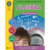 Principles & Standards of Math Task & Drill Worksheets, Algebra, Grades 6-8