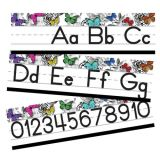 Woodland Whimsy Alphabet Line: Manuscript Mini Bulletin Board Set