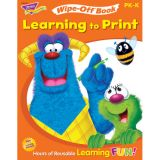 Wipe-Off® Book, Learning to Print (Furry Friends®)
