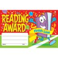 Reading Award–Finish Line Recognition Awards