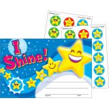Scratch 'n Sniff Stinky Stickers® Awards, I Shine! Emojis