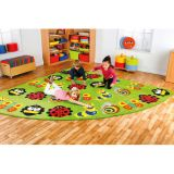 Back to Nature™ Corner Bug Placement Carpet, Large, 9'10W x 9'10L