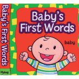 Baby's First Words Cloth Book
