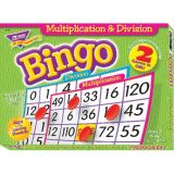 Two-Sided Bingo Game, Multiplication & Division