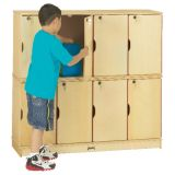 Stacking Lockable Locker, Double Stack