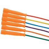 Licorice Speed Rope, Orange handle, 16'