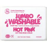 Jumbo Washable Stamp Pad, Hot Pink