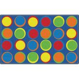 Sitting Spots™ Rug, 6' x 8'4 Rectangle, Primary