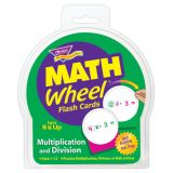 Math Wheel® Flash Cards, Multiplication & Division