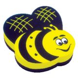 Magnetic Whiteboard Erasers, Bee