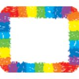Rainbow: Kid-Drawn Name Tags