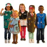 Careers Set 2 Dress Ups Set, Set of all 5