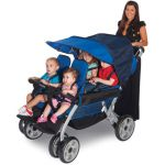 LX4™ Four Child Stroller, Regatta