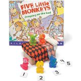 Five Little Monkeys Jumping on the Bed 3-D Storybook