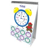 Early Childhood Math Readiness Flip Chart, Time, Money & Measurement
