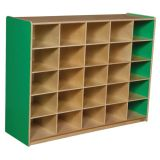 25-Tray Storage, 38H x 48W, Without Trays, Green Apple™