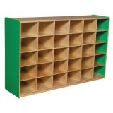 30-Tray Storage, 38H x 58W, Without Trays, Green Apple™