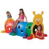 Climb-n-Crawl Caterpillar, 4-Section, Primary colors