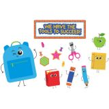 School Tools We Have the Tools to Succeed! Bulletin Board Set