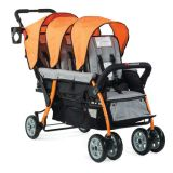 Trio Sport™ 3-Passenger Stroller, Orange