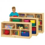 Toddler Single Mobile Storage Unit, 15