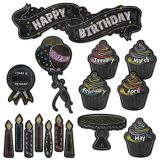Happy Birthday Mini Bulletin Board Set