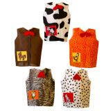 Animals Dress Ups Set, Set of all 5